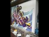 Школа стрит-арта от Винзавода и Артмоссферы на Тавриде