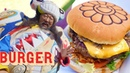 Takashi Murakami's Japanese Tempura Burger is a Work of Art The Burger Show