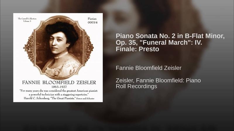 Piano Sonata No. 2 in B-Flat Minor, Op. 35, Funeral March: IV. Finale: Presto