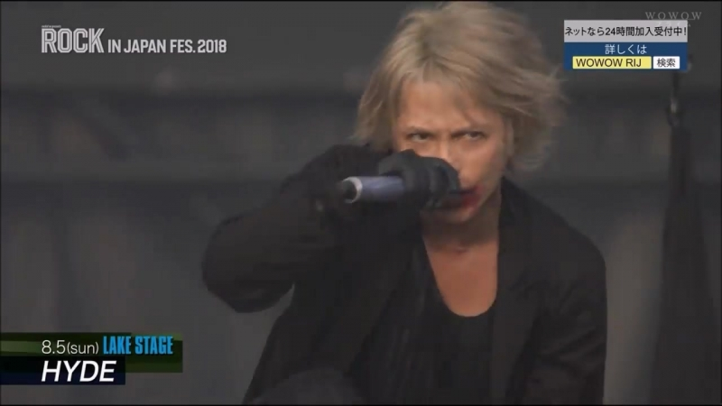 ROCK IN JAPAN Fes. 2018-WOWOW Preview