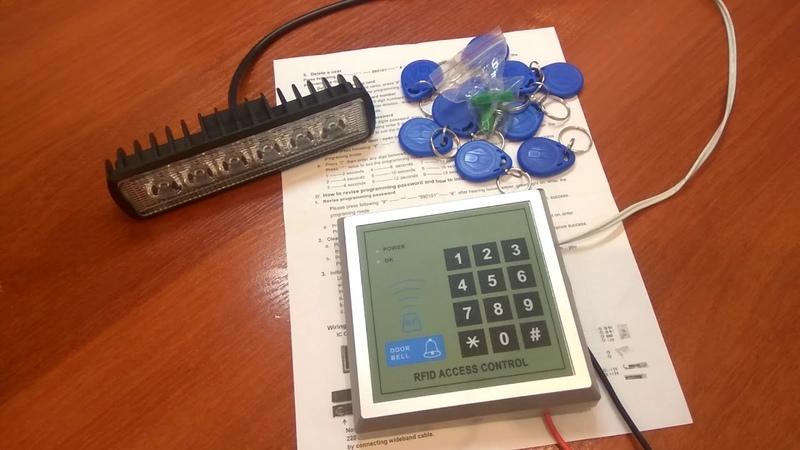 Rfid панель контроля доступа AD2000-M