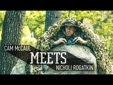 MTB Legend Cam McCaul meets up with Nicholi Rogatkin. | McCaul Meets