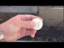 THIS IS CRAZY! WILL A PING PONG BALL BREAK FROM 100FT DROP
