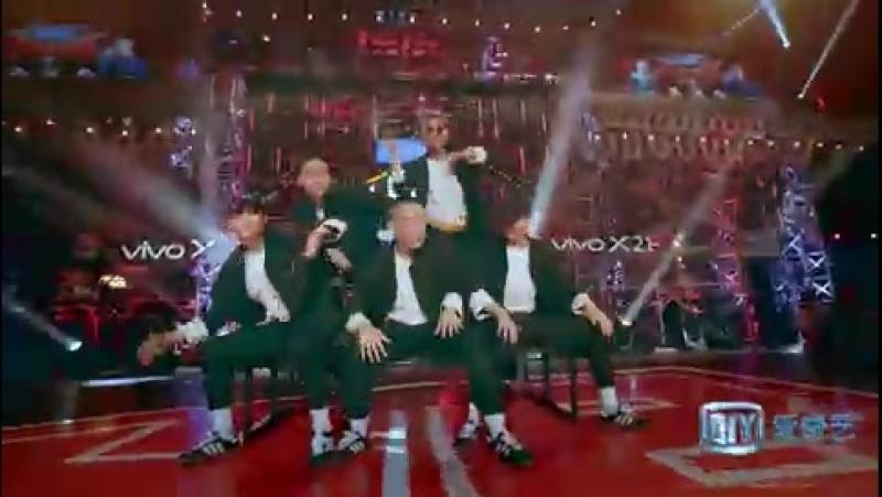 [Видео] Финальное выступление команды Джексона и Лухана на шоу HBDC