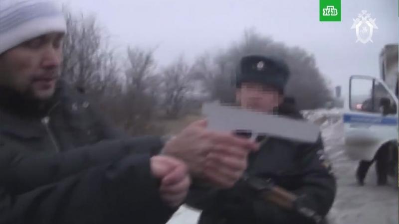 Видео следственного эксперимента с членами «банды GTA»