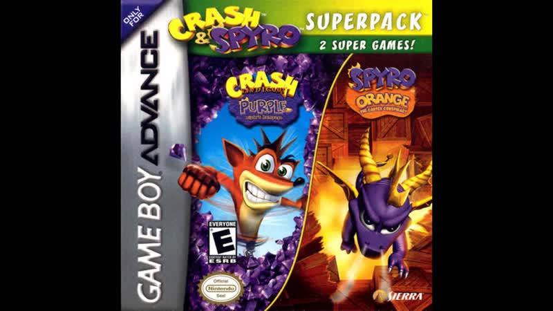 {Level 15} {Crash Bandicoot - Purple Riptos Rampage Spyro Orange - Soundtrack 4 - Fire mountains area 3