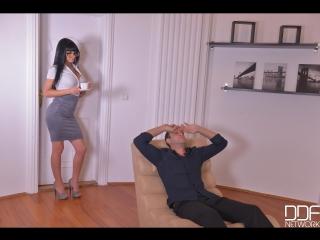 'Yes, Miss Secretary: Hardcore Ass Fucking in The Office' Valentina Ricci [540p]