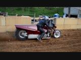 100 км_⁄ч за 0,7 секунды -Top Fuel Motorcycle Dirt Drag Racing