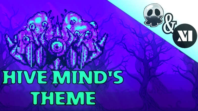 Terraria Calamity Mod Music - The Filthy Mind (featuring SixteenInMono) - Theme of The Hive Mind