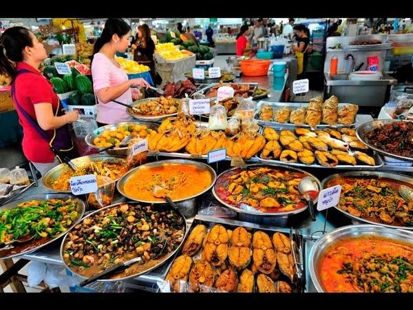 Таиланд Самуи бюджетное питание на рынке