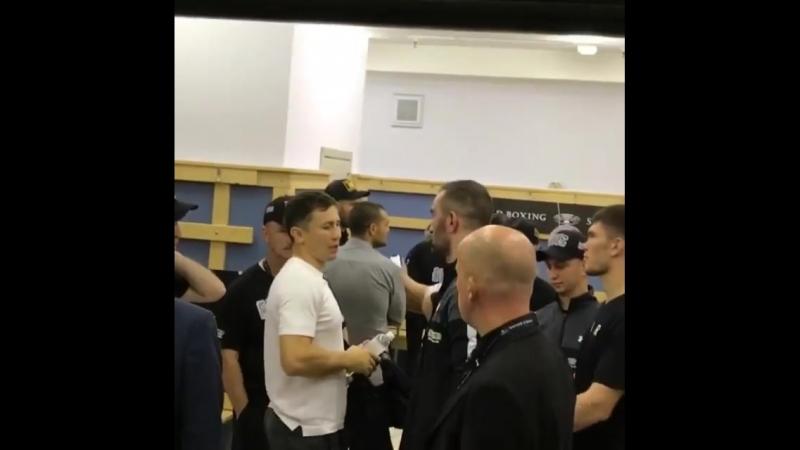 Геннадий Головкин после боя поддержал Мурата Гассиева