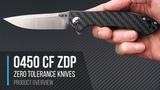 Zero Tolerance 0450CFZDP Limited ZDP-189 KVT Flipper Overview