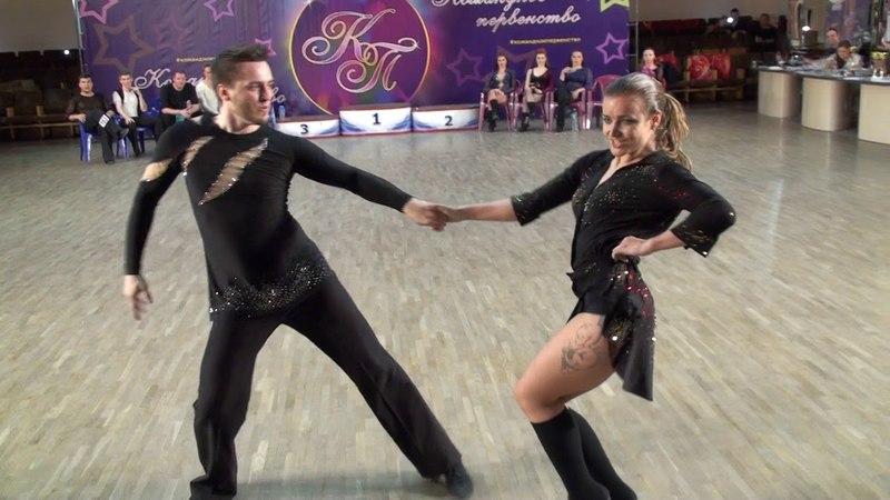 3.6.2018 КП-2 Final JJ Champions Fast 1 место №121 Евгений Дидора - Яна Степочкина