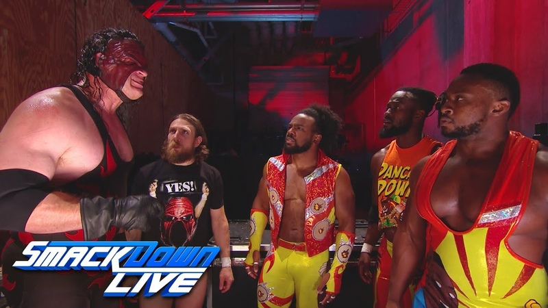Team Hell No & The New Day make a battleplan: SmackDown LIVE, July 10, 2018