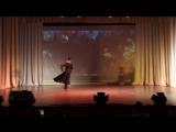 Спортивные бальные танцы (пасодобль), шоу - дуэт Иван и Дарья.