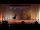 Спортивные бальные танцы пасодобль, шоу - дуэт Иван и Дарья.