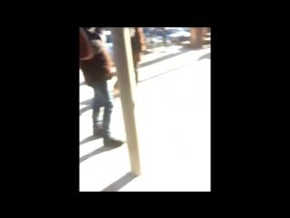 Техник и Раскол под ксанаксом поздравляют девушек на улице
