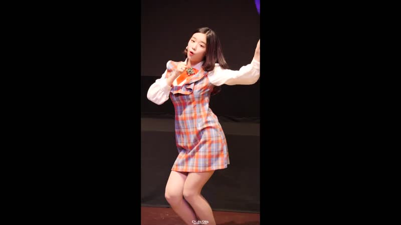 4K 60P 181202 버스터즈 Busters 채연 ChaeYeon 마블링 @ LOVELY PARTY 1회 직캠 Fancam by CY 041204