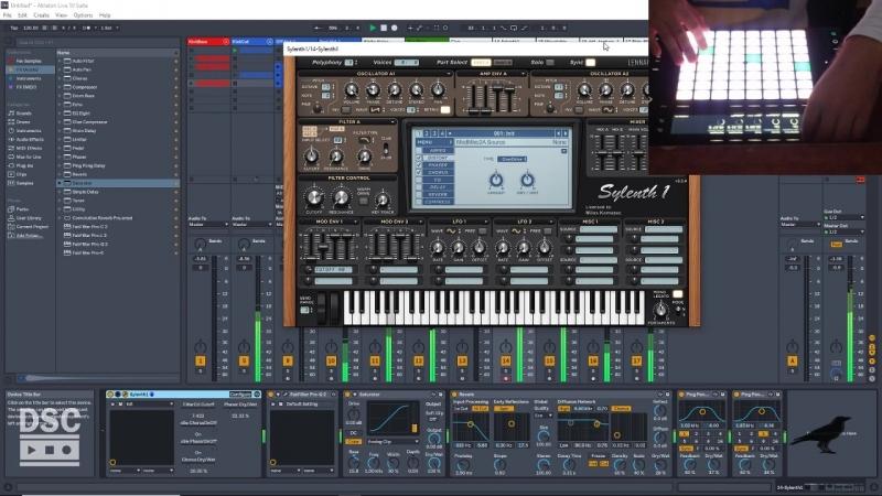 Ableton Live 10 - Push2 MIDI Performance Setup and Play