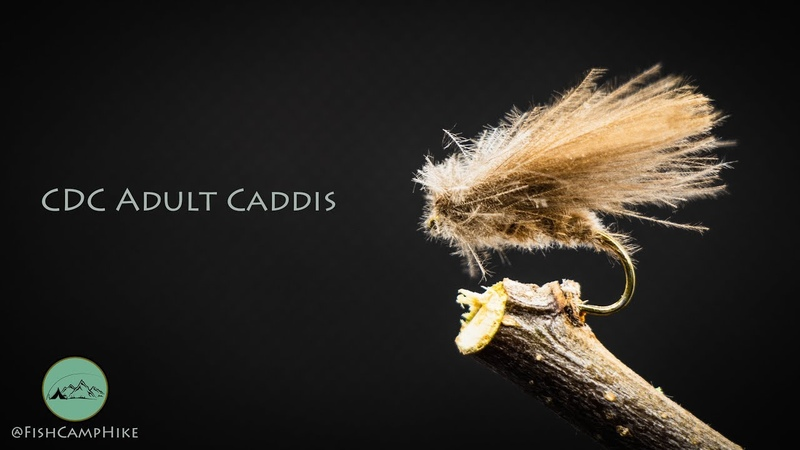 Fly Tying for Beginners - CDC Caddis Dry Fly
