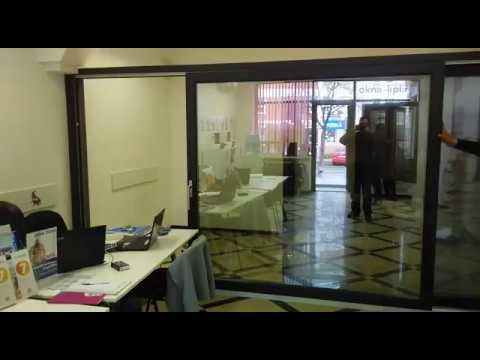 Образец HST-портала Rehau Geneo в салоне г.Краснодар