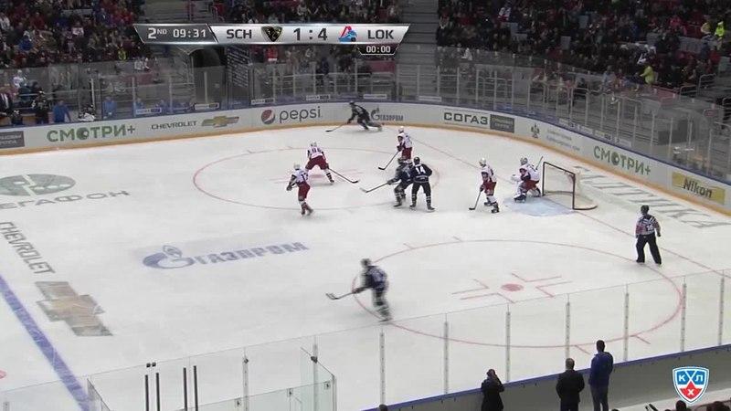 Моменты из матчей КХЛ сезона 14/15 • Гол. 2:4. Райан Уитни (Сочи) сократил разрыв в счёте 07.01