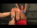 Megan Jones bikini tickled