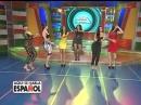 Ana Carolina y Socrates Alba en el duelo de baile en el Circuito de Famosos