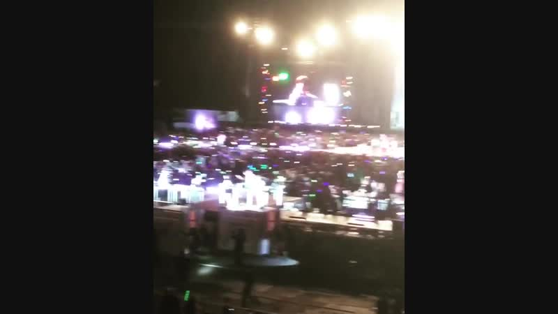 The Ending of SMTown in Santiago (190118)