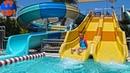 VLOG The Land of Legends АКВАПАРК Ярослава и Кукла Беби Бон катаются на водных Горках!