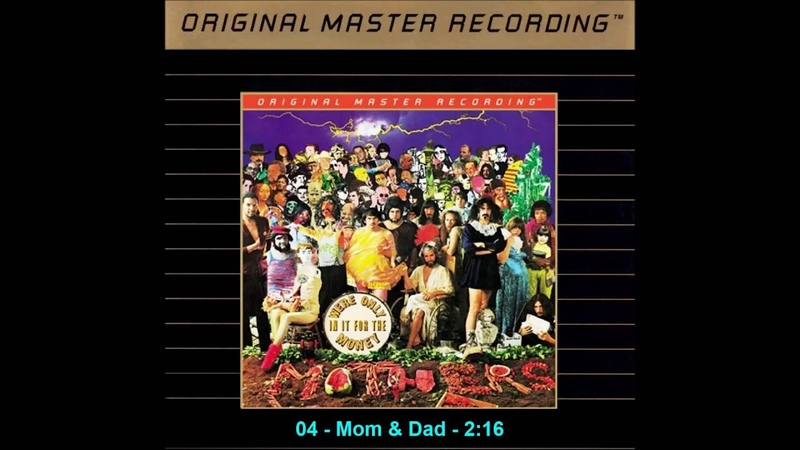 The Mothers of Invention Were Only in it for the Money 1968 MFSL