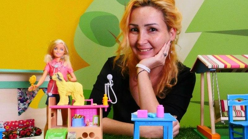Barbie oyunu Özge'nin kafesine veteriner geliyor