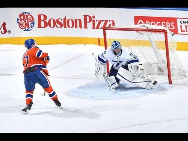 МакДэвид реализует свой первый буллит в НХЛ McDavid buries first career shootout goal