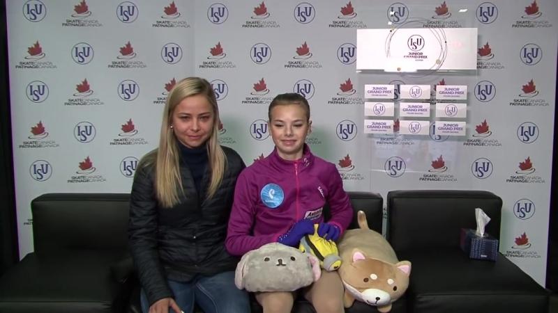 Анастасия Тараканова ПП Skating Canada 2018