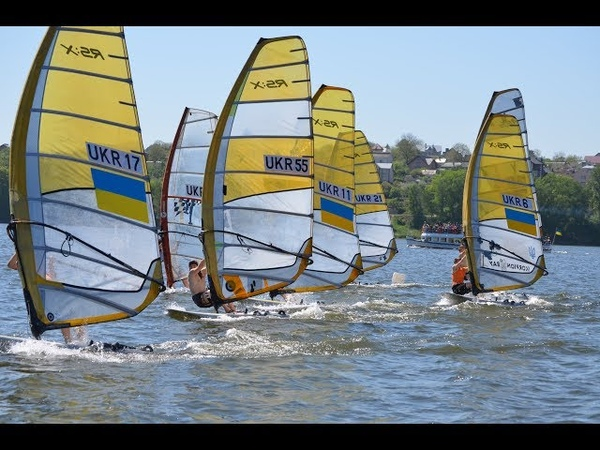 Ternopil windsurfing team RS:X