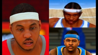 Carmelo Anthony Evolution from NBA 2K4 to NBA 2K19!