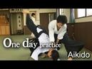合気道 ‐ 呼吸投げの稽古 One day practice - Kokyu Nage