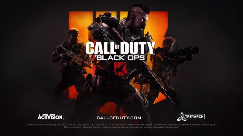 Официальный ролик Call of Duty Black Ops 4 - Зомби история хаоса