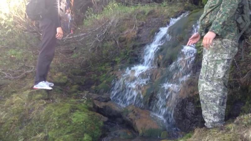 Подъём в Ловозерские горы - эп. 13: Водопад в горах над Сейдозером