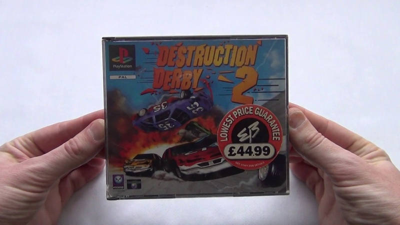 Destruction Derby 2 Playstation PAL