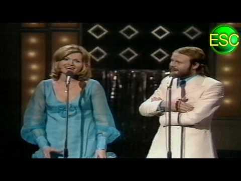 ESC 1972 16 - Belgium - Serge Christine Ghisoland - À La Folie Ou Pas Du Tout