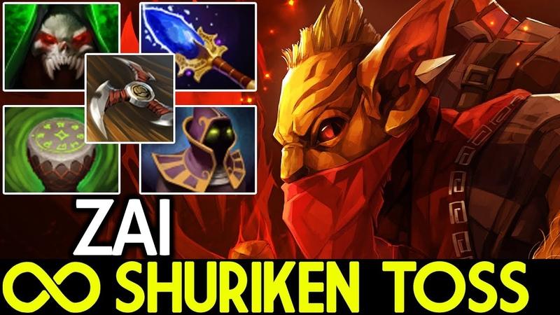 Zai [Bounty Hunter] Infinity Shuriken Toss New Meta 7.19 Dota 2