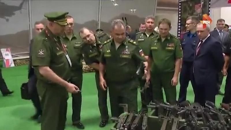 Шойгу показали оружие конфискованное у сирийских боевиков