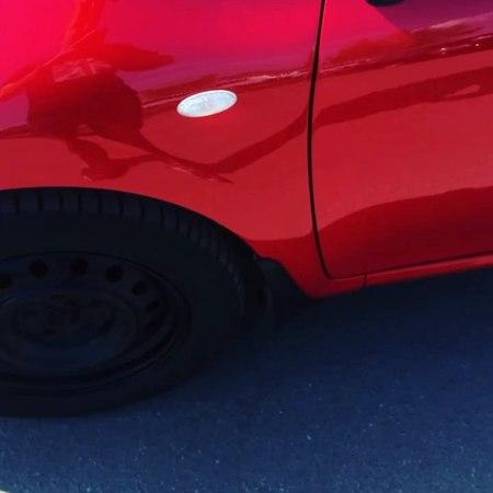 """СТО Volvo Авто Реконструкция on Instagram: """"Toyota 🚗полная покраска ,красная трехслойка 😎toyota спб спб❤️ металлострой рыбацкое покраскаавто ..."""