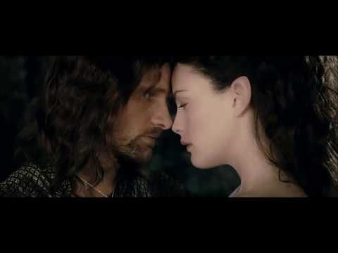 Arwen and Aragorn ♥ Liv Tyler Viggo Mortensen Athair Ar Neamh Enya
