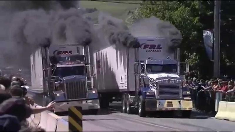 Cool racing truck!   Крутые Гонки на Грузовиках!