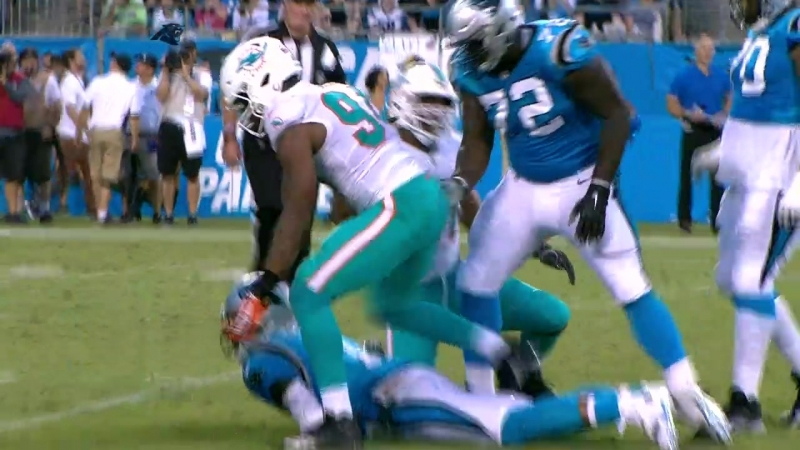 NFL 2018-2019 PS Week 02 Miami Dolphins - Carolina Panthers EN