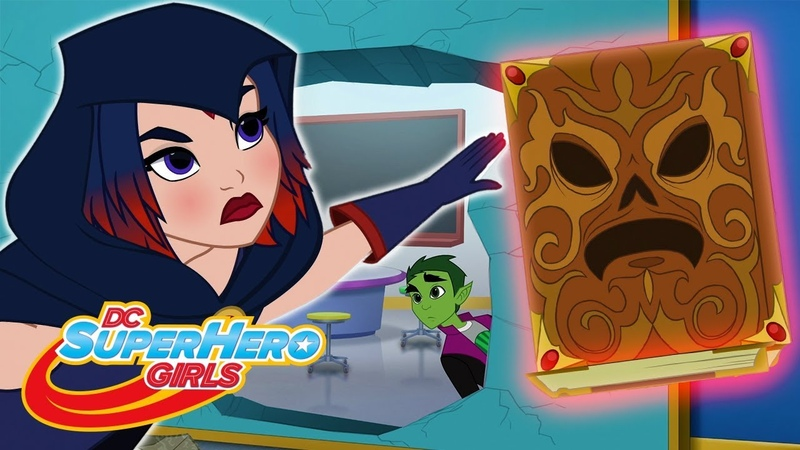 Шокирующее заклинание Часть 2 502 DC Super Hero Girls Россия