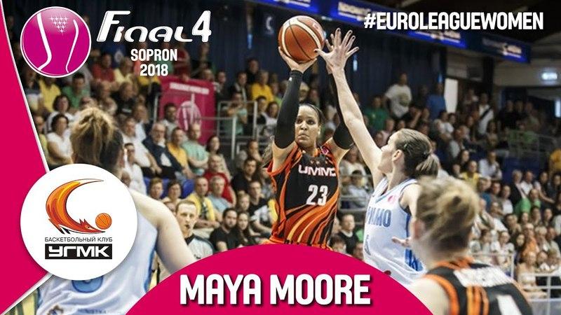 Maya April Moore (28 PTS, 6 REB, 5 AST) was on fire vs. Dynamo Kursk