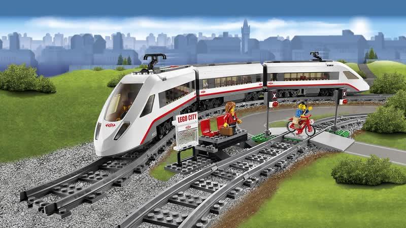 LEGO 60051 Пассажирский поезд